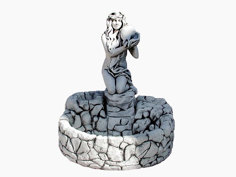 Mini kamenica i statua Eva