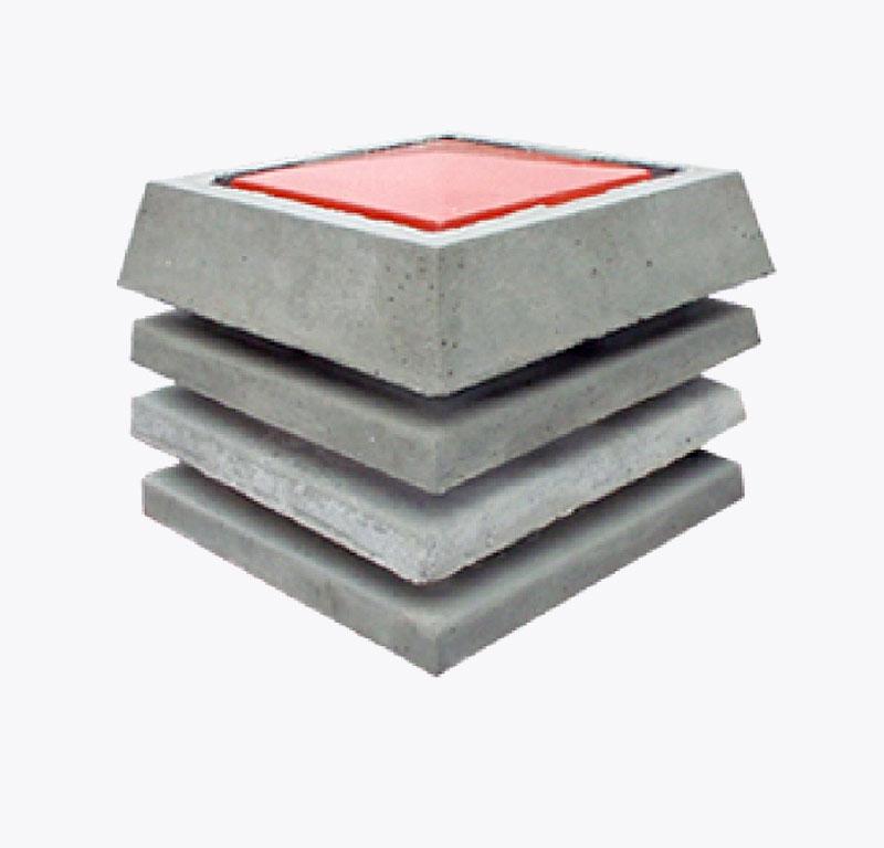 Kapa za dimnjak trodjelna 201